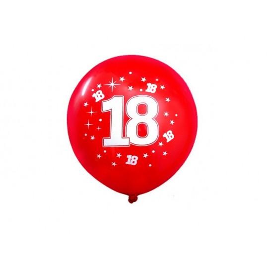 Balony na 18 urodziny (10szt.)