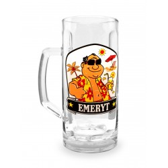 Kufel na piwo - Emeryt
