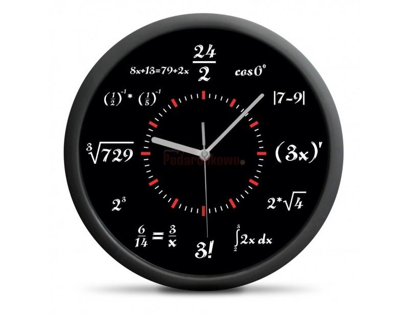 To idealny i oryginalny prezent dla kogoś o ścisłym umyśle i logicznej strukturze myślenia :) Zegar matematyka to przedmiot wyjątkowy i designerski.