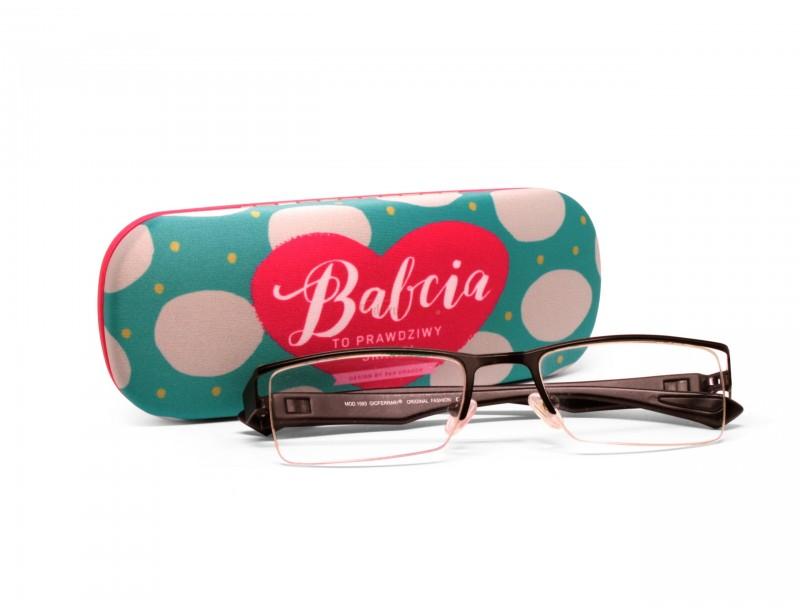 Etui na okulary Love - Babcia