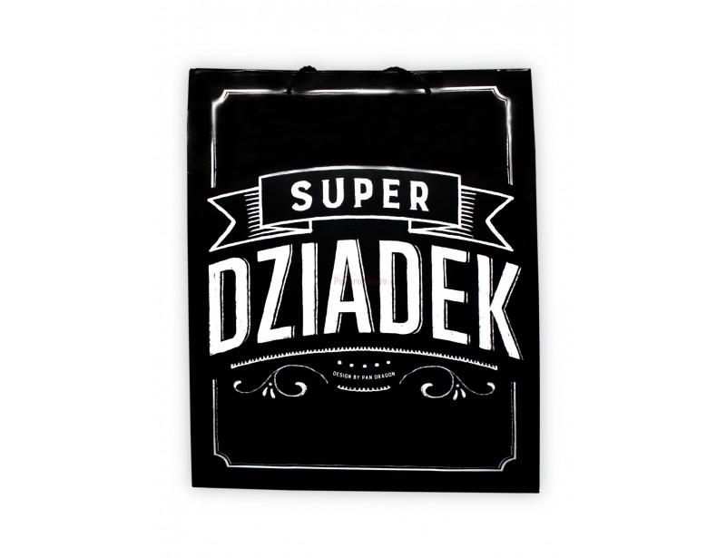 Torebka prezentowa - Super Dziadek
