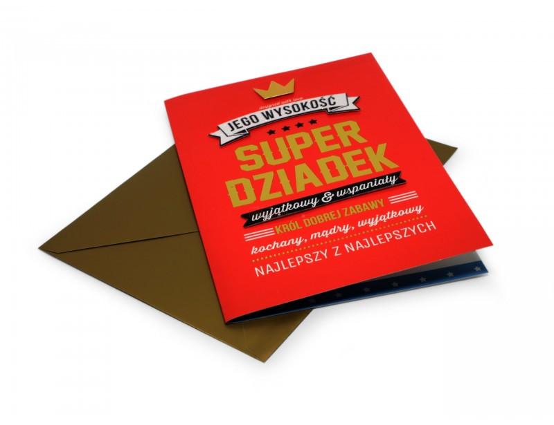 Karnet Royal - Super Dziadek