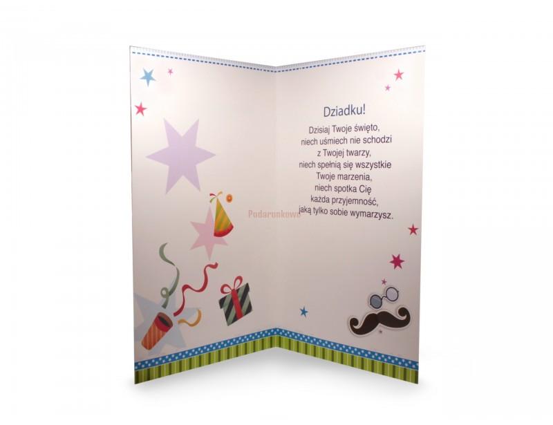 Karnet XL - Dla Kochanego Dziadka