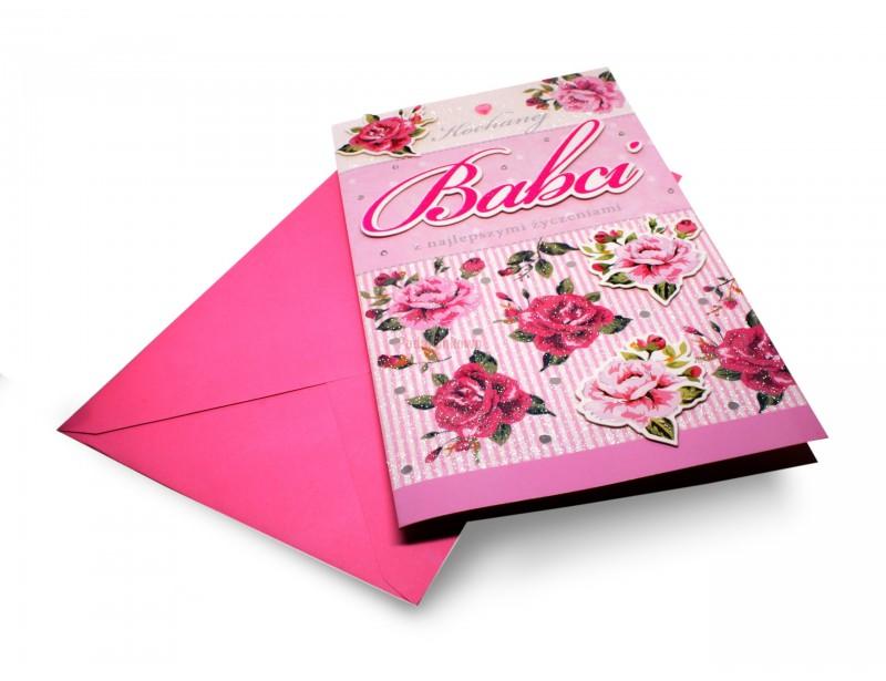 Karnet XL - Dla Kochanej Babci