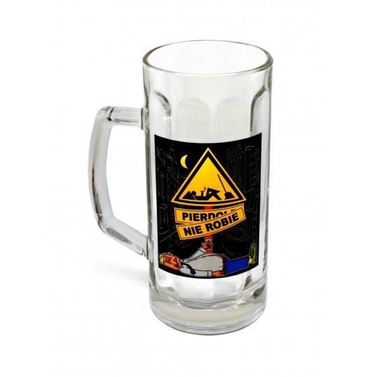 Kufel na piwo - Pierd.. nie robię (wersja 2)