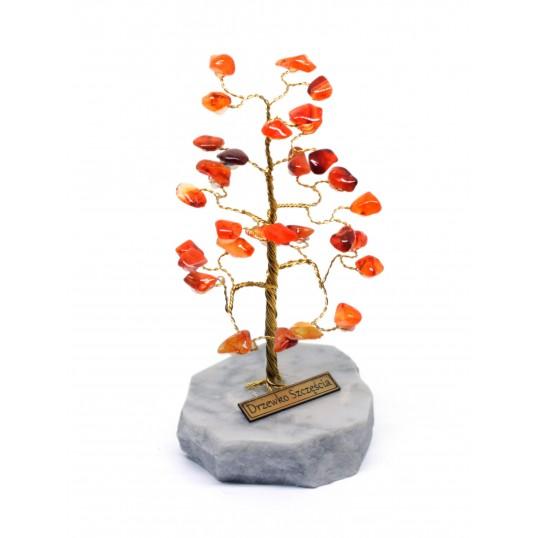 Drzewko Szczęścia - Karneol