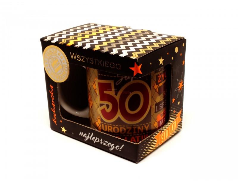 Kubek - 50 Urodziny Premium