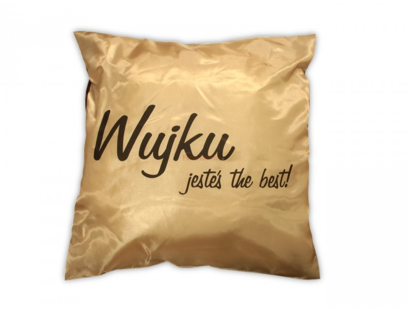 Prezentowana poduszka to pomysłowy prezent dla każdego wujka, który uwielbia gustowne i praktyczne upominki :)