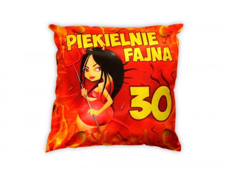 Szukasz czegoś fajnego dla dziewczyny z okazji 30-stych urodzin? To jest właśnie to! :) Piękna, soczyście kolorowa, przebojowa poduszka