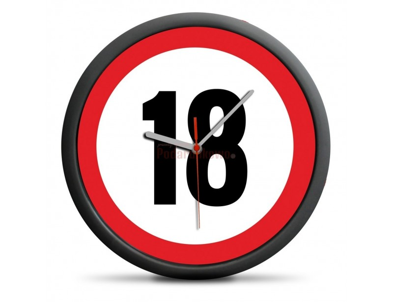 Zastanawiasz się nad prezentem z okazji 18-stki? Pomyśl o tym, że ten zegar może być właśnie tym czego szukasz :)