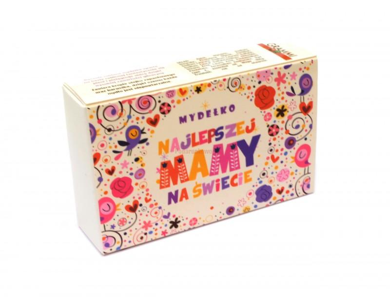 Delikatne, pachnące mydełko glicerynowe to piękny prezent dla mamy z okazji urodzin, imienin lub z okazji Dnia Matki.