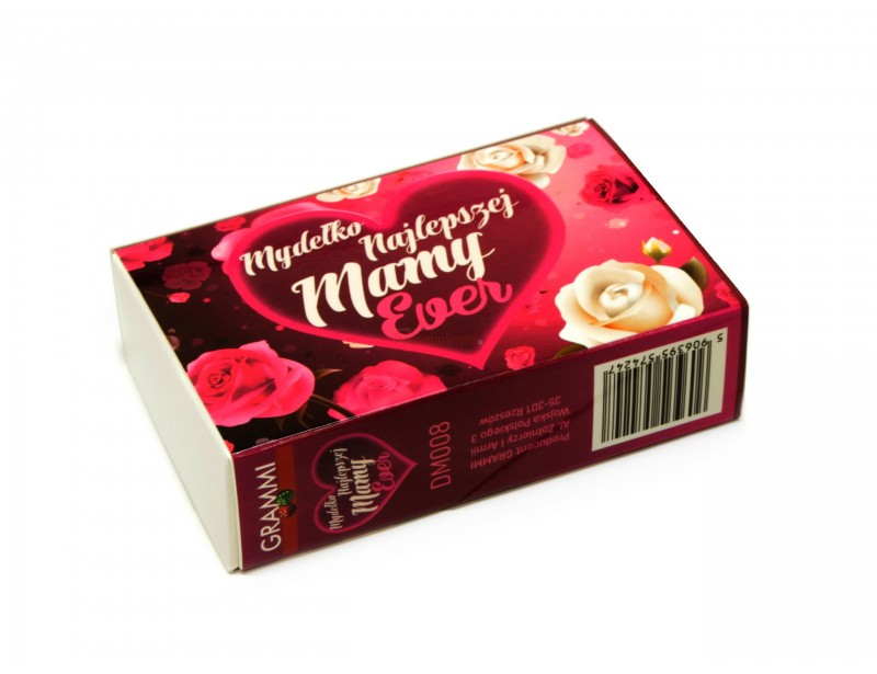 Stylowe, pachnące mydełko glicerynowe będzie doskonałym prezentem dla mamy :)