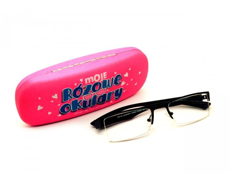 Prezentowane etui to śmieszny prezent dla każdej właścicielki okularów :) Śliczne, różowe etui na okulary to oryginalny i niepowtarzalny gadżet.
