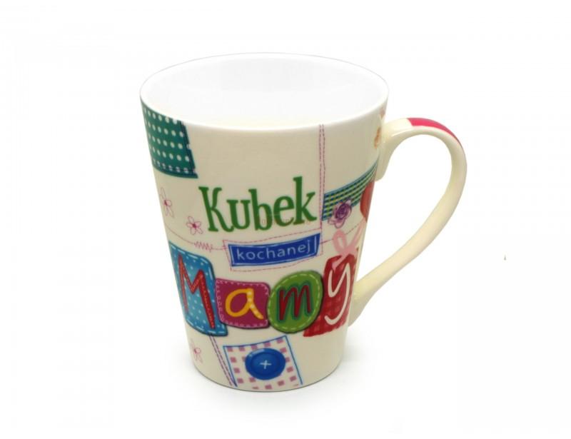 Jedyny taki - kolorowy, wesoły, optymistyczny i kobiecy kubek to idealny prezent dla Mamy :)