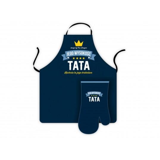 Fartuch Royal + Rękawica - Tata