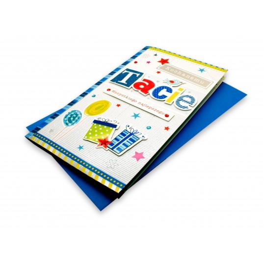 Karnet XL - Kochanemu Tacie
