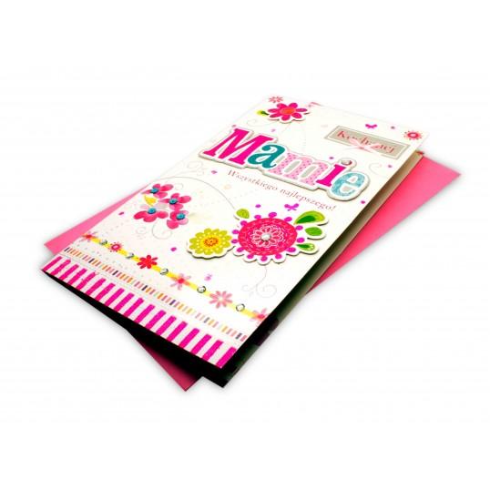 Karnet XL - Kochanej Mamie