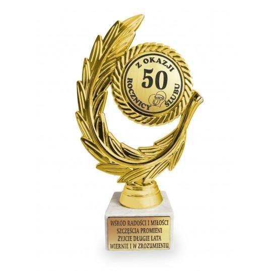 Złoty laur - Na 50 rocznicę ślubu