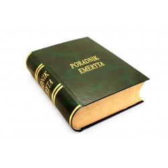 Książka na alkohol - Poradnik Emeryta