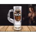 Kufel na piwo Mocarz - Mocne 18 lat