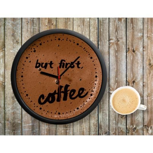 Zegar Kawosza - Coffee Time
