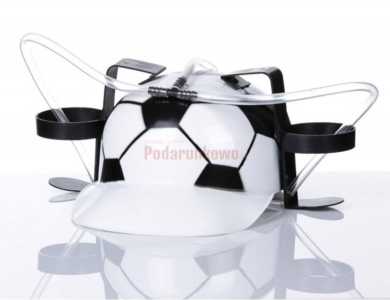 Jeśli szukasz oryginalnego prezentu dla piłkarza lub dla kibica to właśnie masz go przed sobą :) Wyjątkowy kask piwny, który wyróżni każdego :)