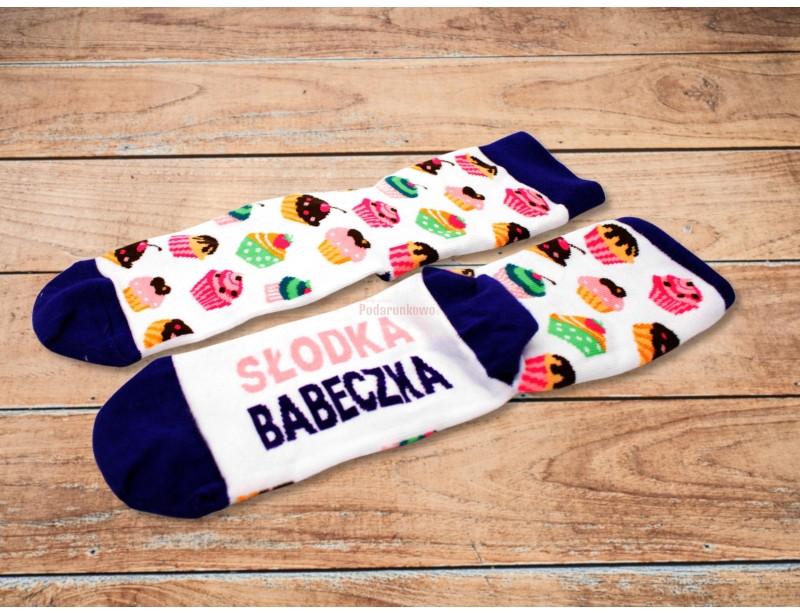 """Skarpetki pięknie wyglądają i z pewnością ucieszą niejedną """"Babeczkę"""" :) To doskonały prezent z okazji Dnia Kobiet lub jako prezent na Mikołajki klasowe :)"""