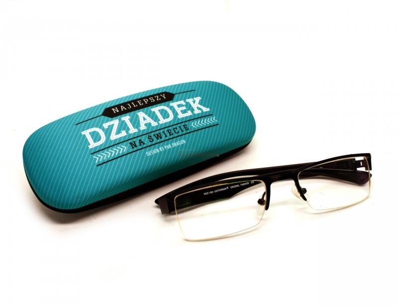 Dziadek to ktoś wyjątkowy, dlatego z okazji Dnia Dziadka powinien otrzymać od nas wyjątkowy prezent - etui na okulary z oryginalną grafiką
