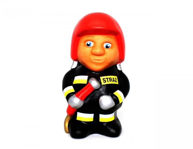 Prezentowana skarbonka w kształcie strażaka to śmieszny i oryginalny prezent dla strażaka.