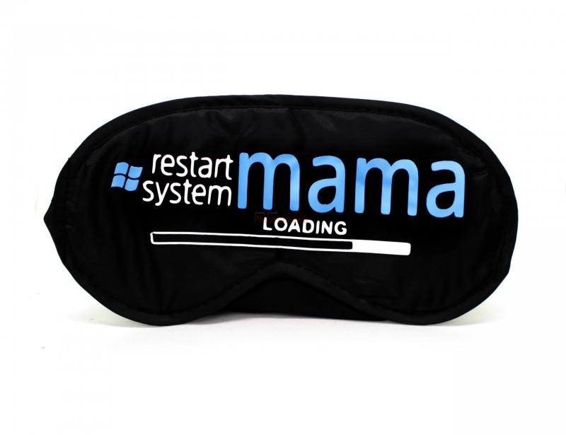 """Wspniały i oryginalny prezent dla mamy. Zwłaszcza dla zapracowanej i zabieganej mamy :) Opaska na oczy pozwoli się Jej wyciszyć, zrelaksować i """"odpłynąć"""" do krainy snów :)"""