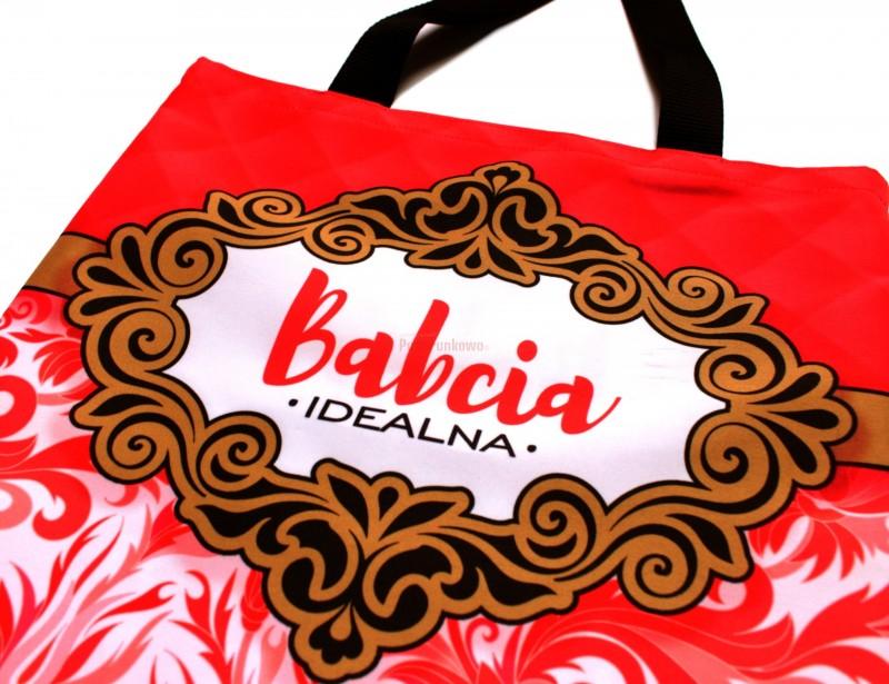 Rewelacyjna torba na zakupy dla babci, która dzięki pięknemu nadrukowi podkreśli, jak nasza babcia jest wyjątkowa, i praktycznie posłuży podczas codziennych wypraw do sklepu :)
