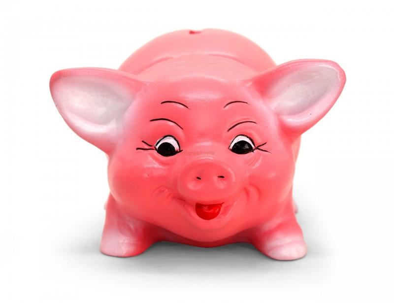 Klasyczna, ceramiczna, różowa świnka skarbonka jest świetnym prezentem dla każdego :) Sprawdzi się na urodziny, imieniny i inne okazje :