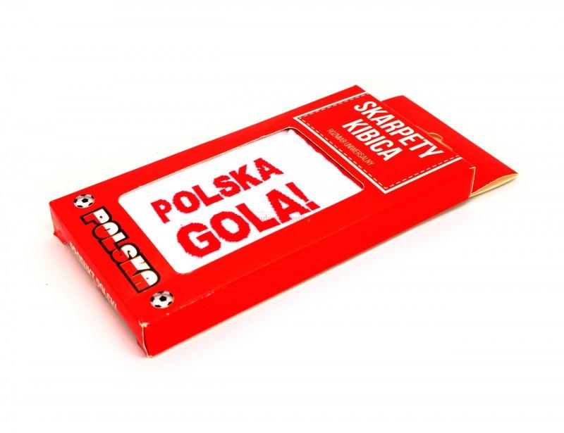 Skarpety kibica to doskonały pomysł na prezent dla fana piłkarskich rozgrywek, dla młodego piłkarza oraz dla męża, który ma wszystkie atrybuty do kibicowania oprócz takich właśnie stylowych skarpetek :)