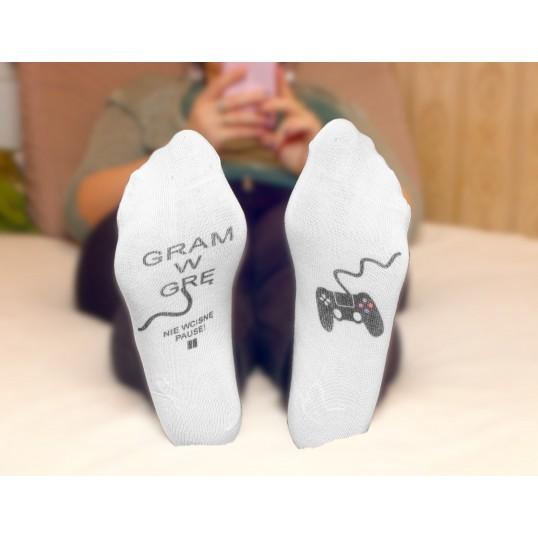 Skarpetki stopki - Gram w grę
