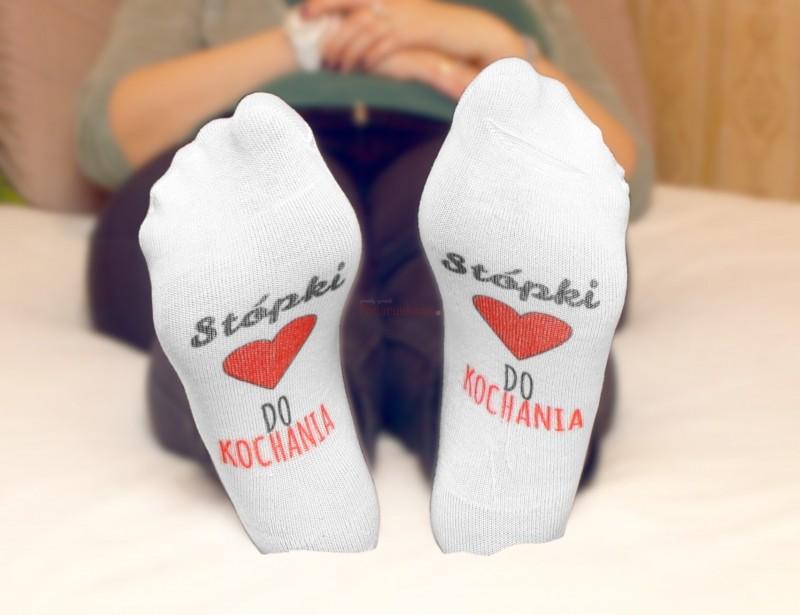 Skarpetki stopki to pomysłowy prezent dla dziewczyny z okazji urodzin lub z okazji Dnia Kobiet :)