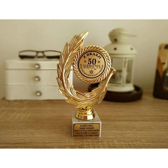 Złoty laur - 50 urodziny
