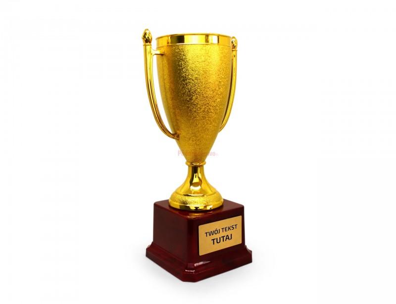 Puchar to pomysłowy prezent dla kogoś, kto zasługuje na wszystko, co najlepsze :) Puchar to symbol zwycięstwa i bycia po prostu najlepszym z najlepszych :)