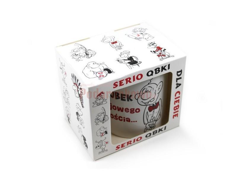 Chcesz zrobić koledze wspaniały prezent? Dobrzez trafiłeś! Ceramiczny kubek z humorystycznym nadrukiem na pewno się Mu spodoba.