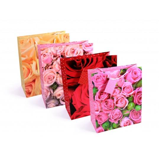 Torebka prezentowa - Róże