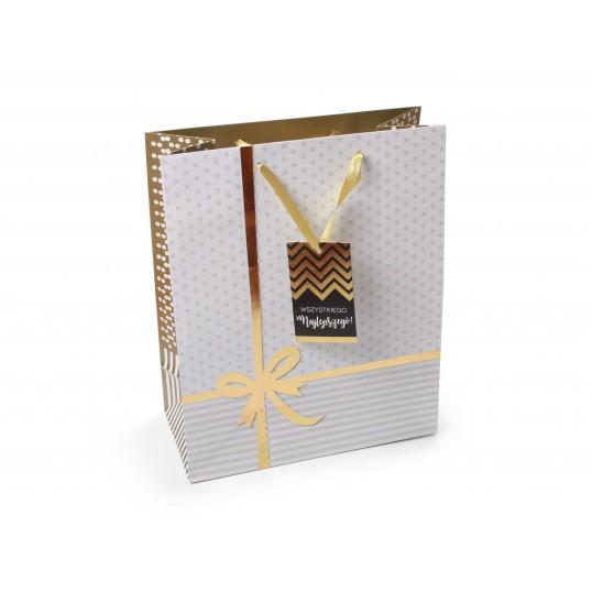 Torebka prezentowa - Premium Gold 035