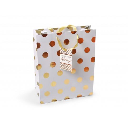 Torebka prezentowa - Premium Gold 036