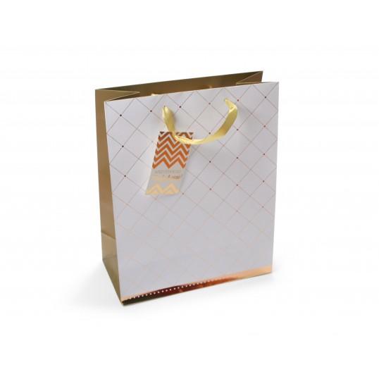 Torebka prezentowa - Premium Gold 038