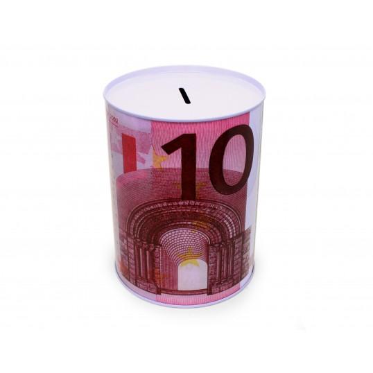 Duża puszka skarbonka - 10 euro