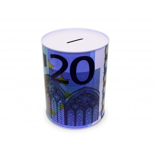 Duża puszka skarbonka - 20 euro