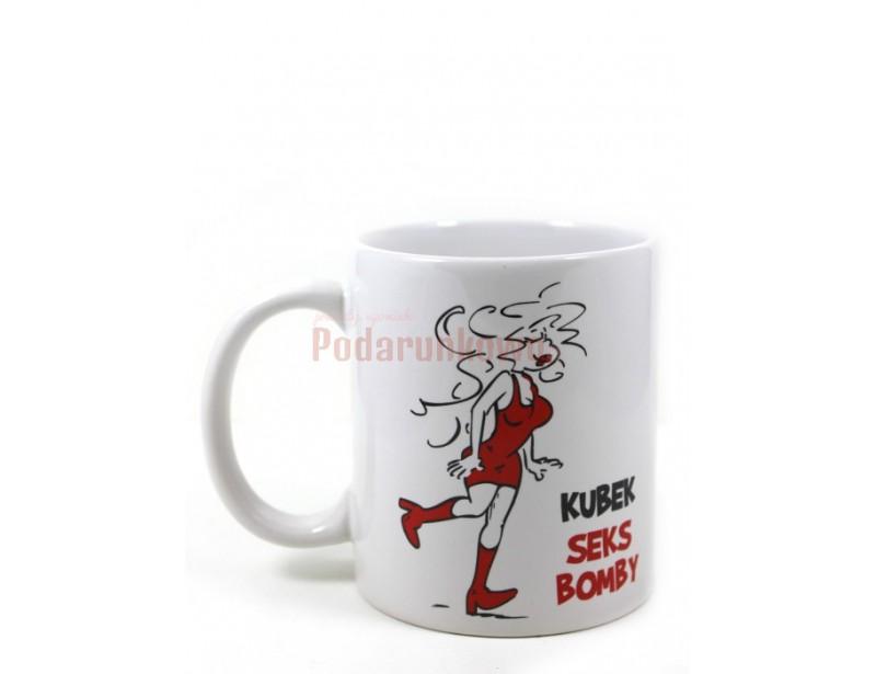 Chcesz zrobić wspaniały prezent koleżance? Dobrzez trafiłeś! Ceramiczny kubek z humorystycznym nadrukiem na pewno się Jej spodoba.