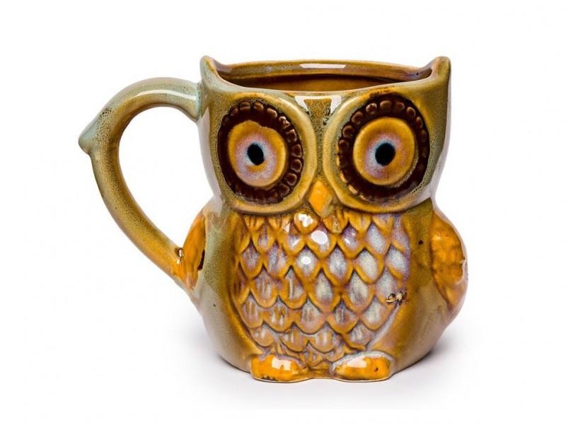 Przedstawiamy interesujący prezent dla nauczycielki - kubek w kształcie sowy. Kubek wykonany jest z porcelany, ma oryginalny wygląd i symboliczny kształt.