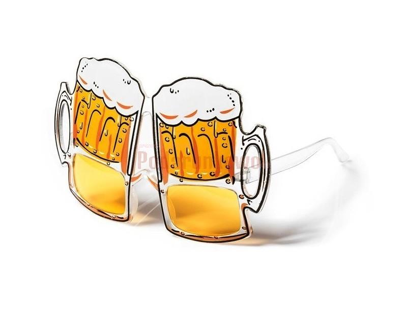 Znakomity look na imprezę? Masz go przed sobą :) Oryginalne i rewelacyjne okulary piwne są niezbędnikiem na każdych urodzinach, juwenaliach, 18-stkach i innych eventach.