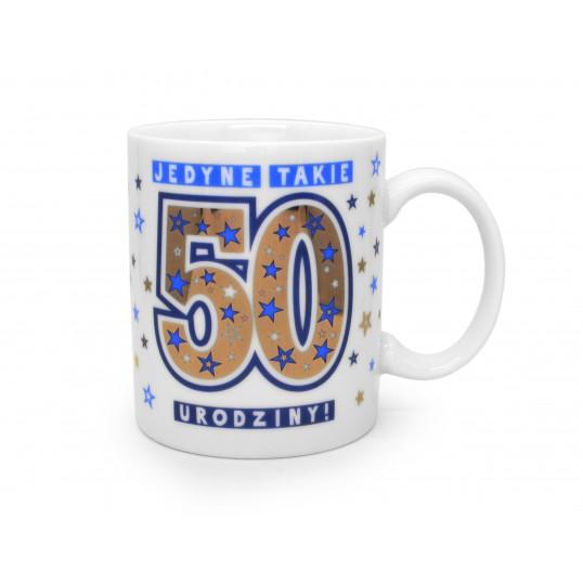 Kubek Premium - Jedyne takie 50 urodziny