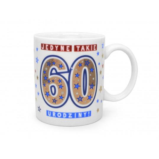 Kubek Premium - Jedyne takie 60 urodziny