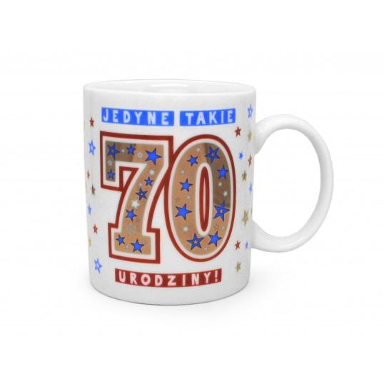 Kubek Premium - Jedyne takie 70 urodziny